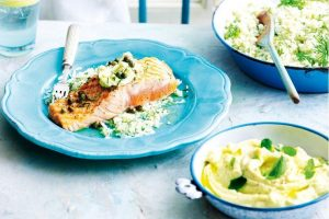 nutrition healthy salmon